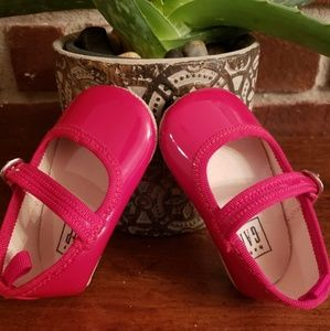 Baby GAP Red Strap Shoes